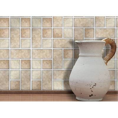 Tristone 4 X 4 Tiles 10cm X 10cm 18 Tiles Per Box Each Box Will Cover 2 Sqr Ft 0 2m No C Self Adhesive Wall Tiles Stick And Go Tiles Wall Tiles