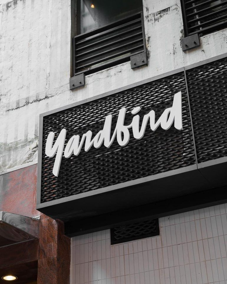 Yardbird Call Out Our Name On Inspirationde Shop Signage Exterior Signage Restaurant Signage