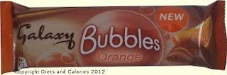 Galaxy Bubbles Orange bar