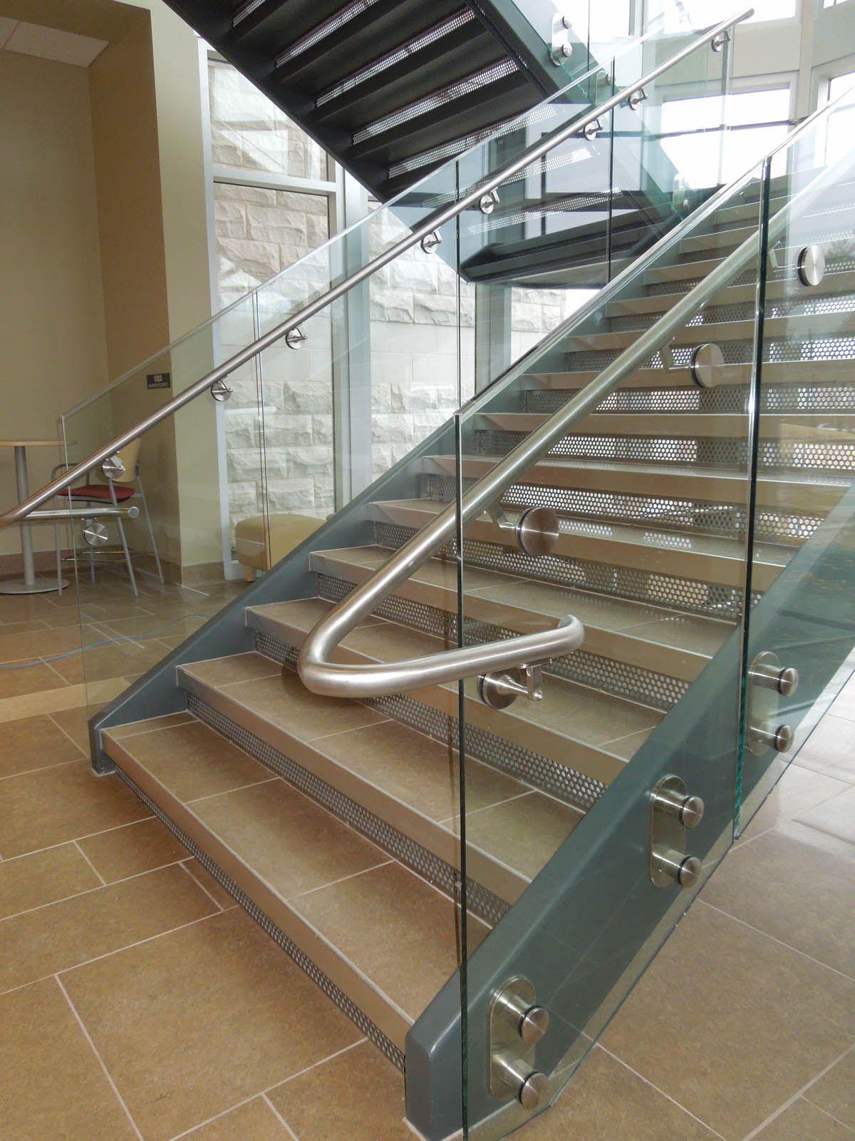 Best Metal Stair Treads Risers Hendrick Metal Stairs 640 x 480