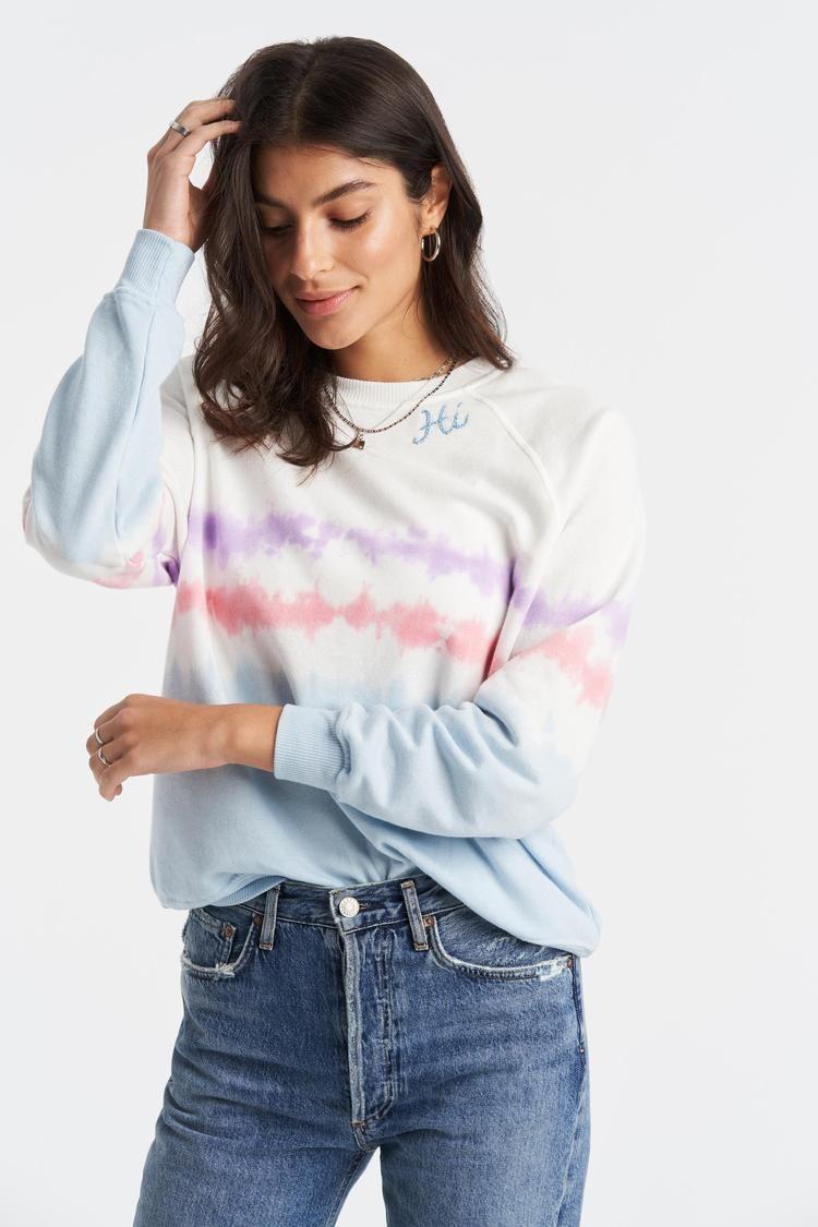 Bandier Tie Dye Sweatshirt