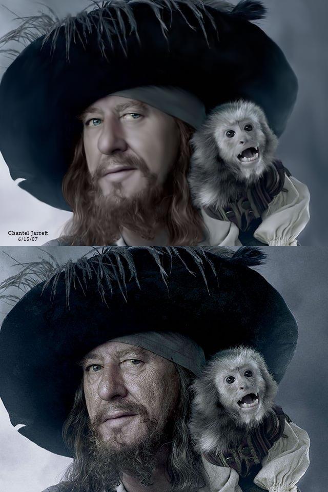 Barbossa Comparison By Https Www Deviantart Com Chanjar1 On Deviantart Hector Barbossa Pirates Of The Caribbean Sea Pirates