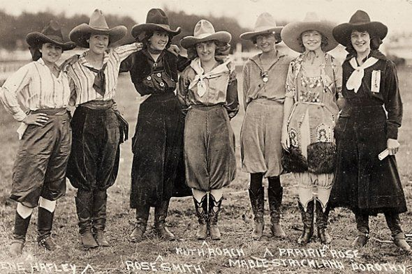 Cowgirl Hats in History