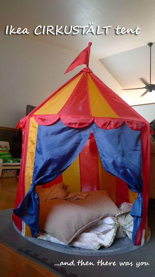 buy popular 4826e 6b2fc CIRKUSTÄLT Children's Tent | IKEA Source Philippines ...
