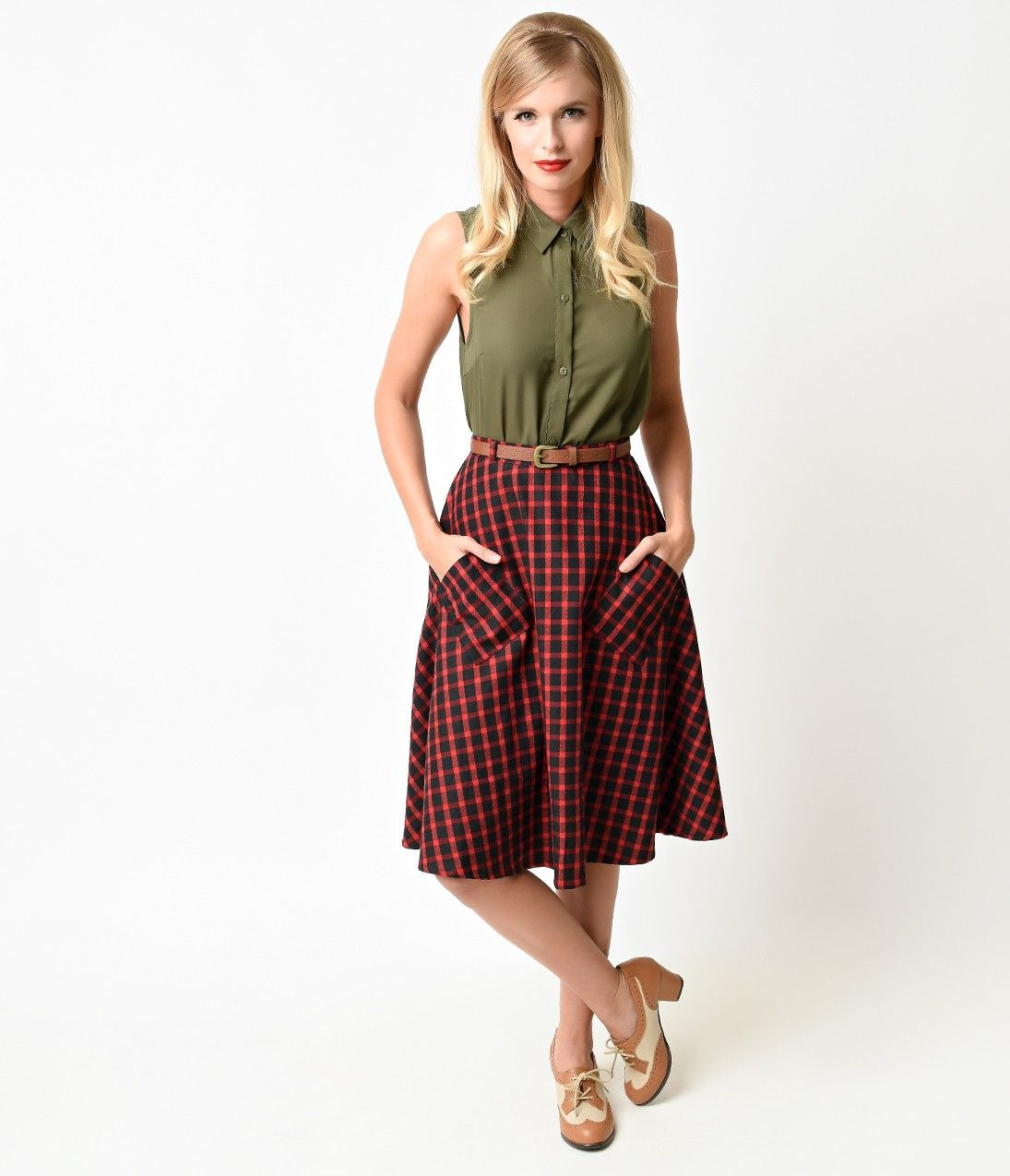 New Vintage Skirts Swing Skirt Full Circle Classic Poodle Or Slim Pencil Plus Size And Too