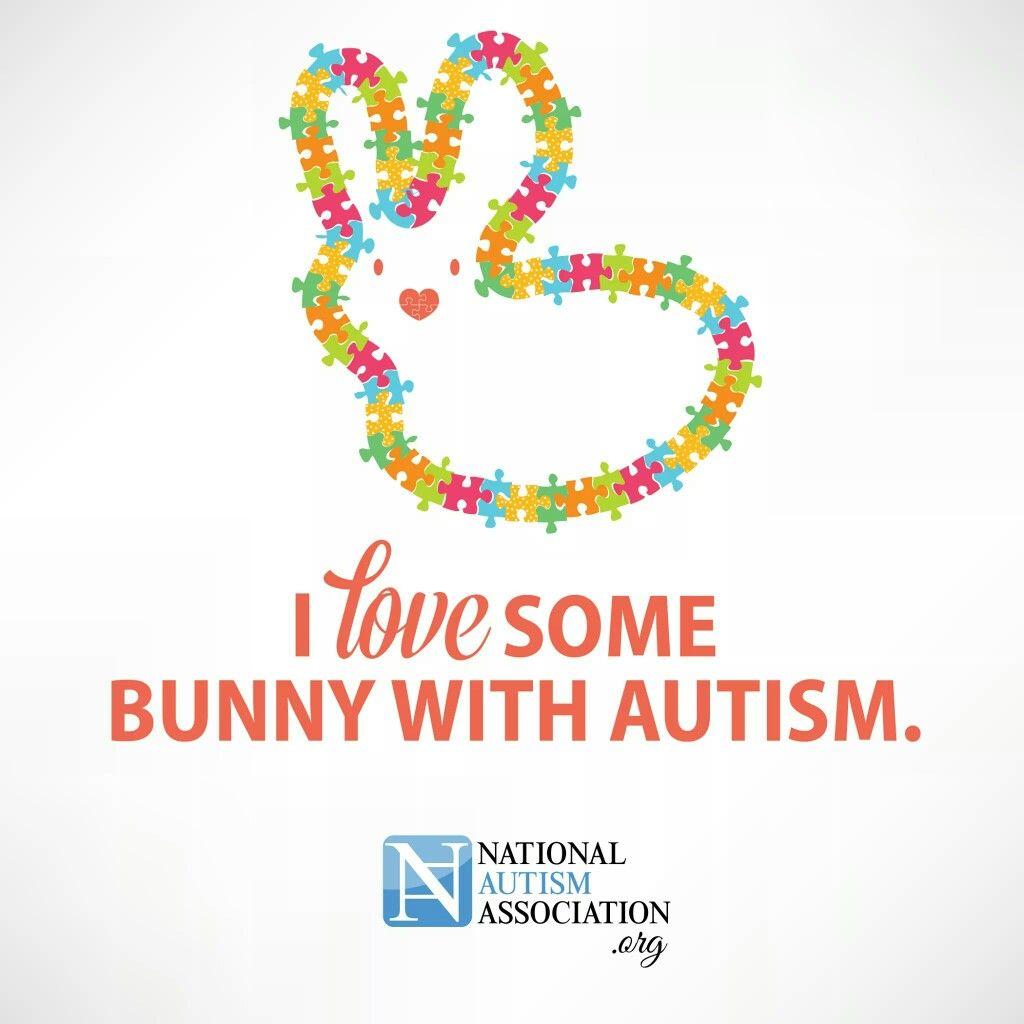 I ❤ some bunny w/ autism