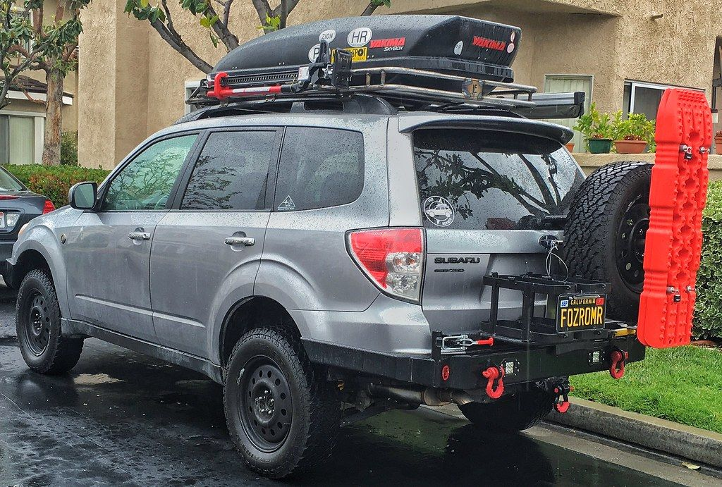 Subaru Forester rear/front bumper build (pics) in 2020