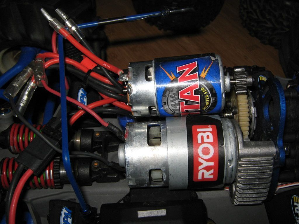 Drill Motor Used For Rc Car Hacked Gadgets Diy Tech Blog Rccarsdiy