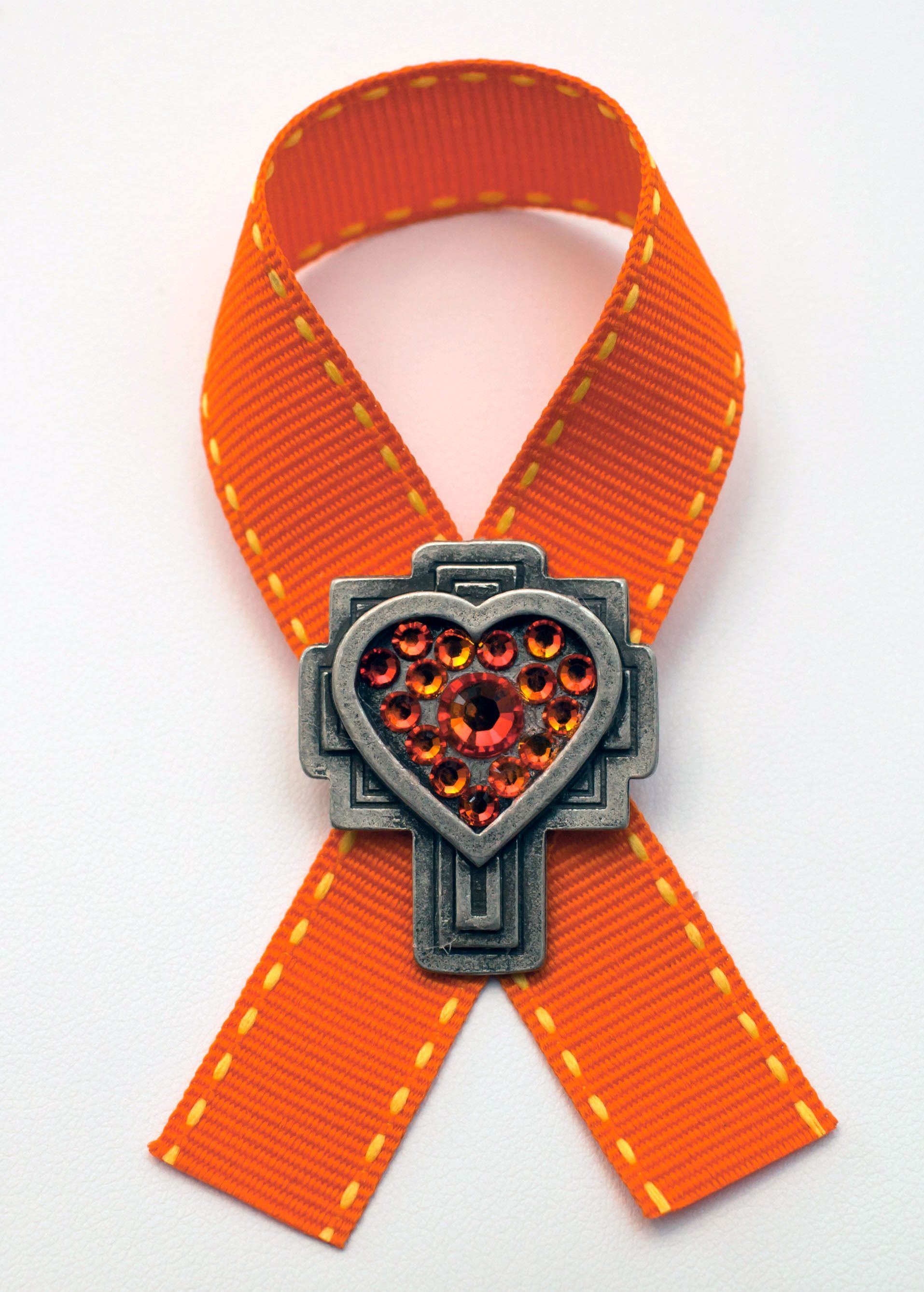 hope orange cause bracelet pin leukemia jewelry awareness