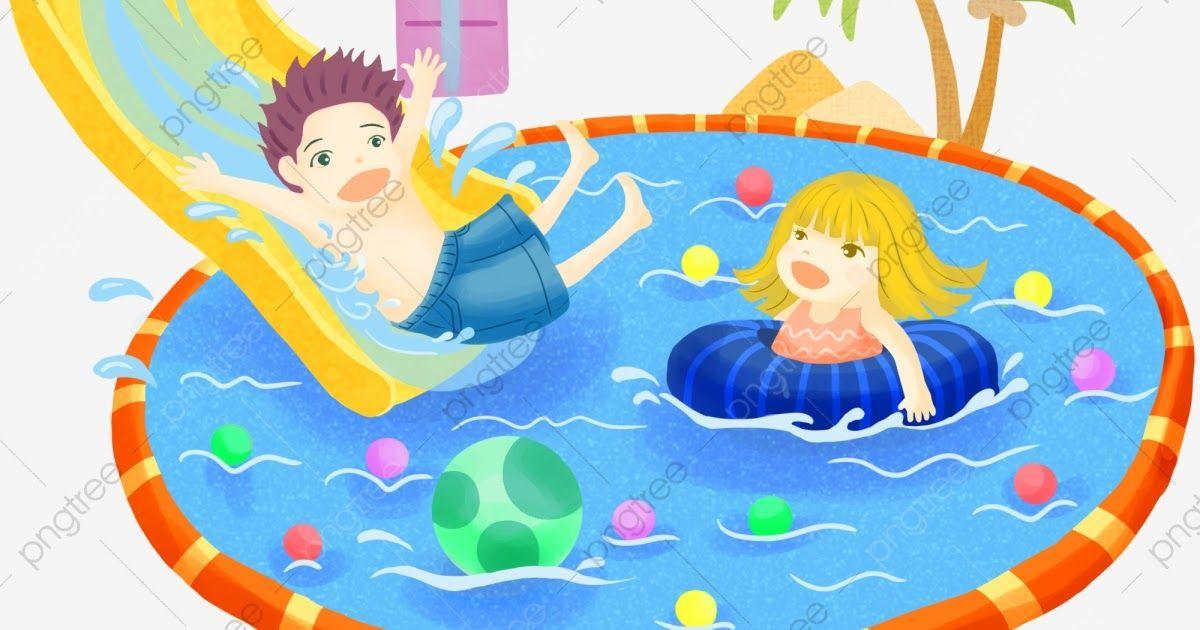 Fantastis 30 Gambar Kartun Orang Sedang Berenang Vektor Di Taman Bermain Dan Kolam Renang Dengan Anak Anak Download Gambar Kar Kartun Gambar Kartun Gambar