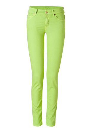 e95c8470fa76 Cutest Lime Green Pants!! Jean jacket and these pants would be BFF's ...