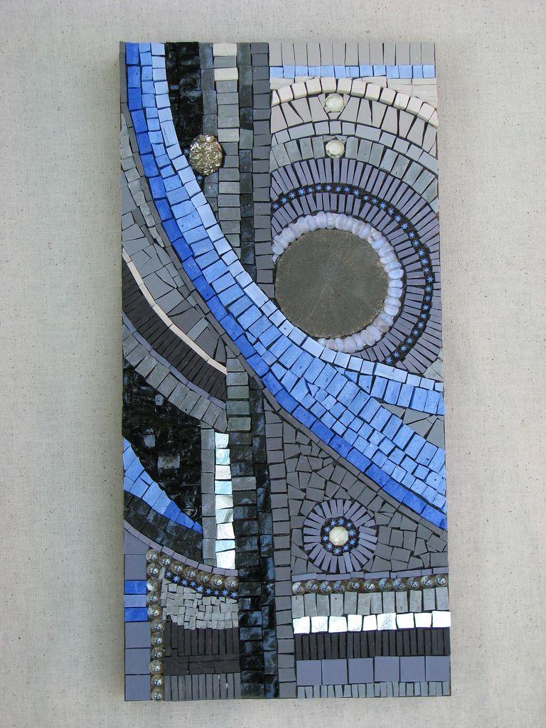 abstract pinterest mosaik drau en und basteln. Black Bedroom Furniture Sets. Home Design Ideas