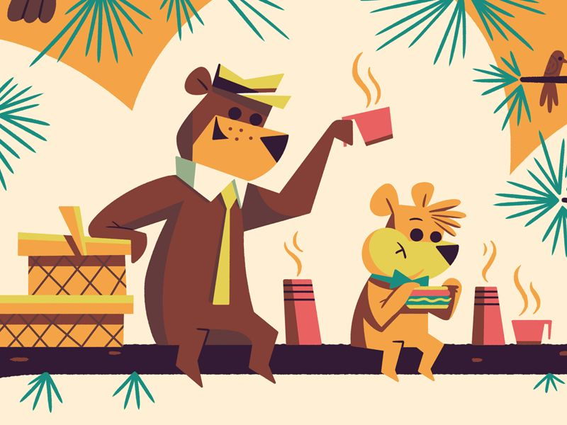 The Kolblog — These are a few crops of the Yogi Bear poster...