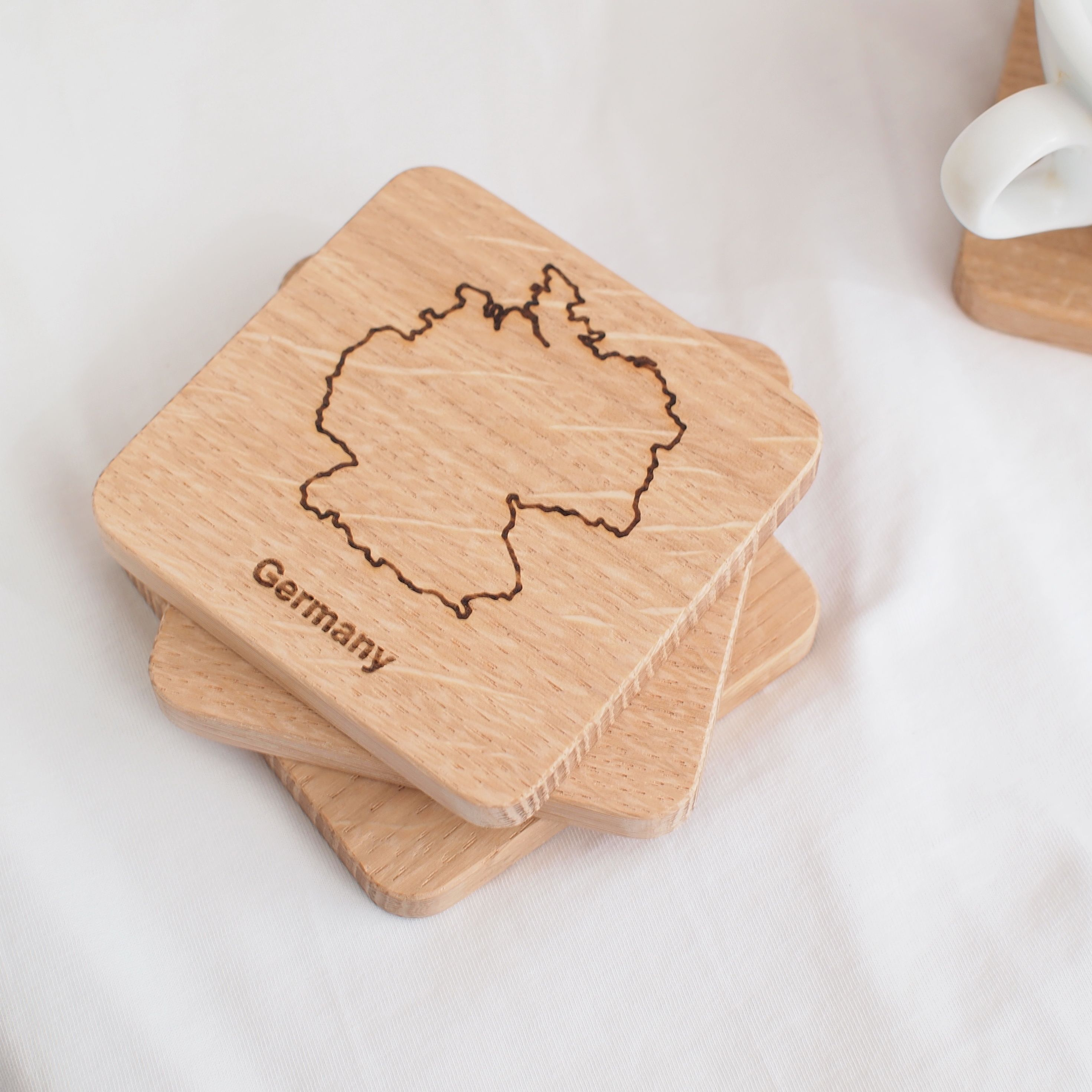 Nude coasters for any decor style