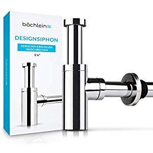 Bächlein Design Siphon Universal für Waschbecken
