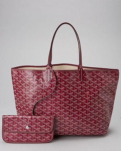 88bab80c4d75 Some of you have to get in on this  Goyard Bordeaux Goyardine Canvas St.  Louis PM Tote