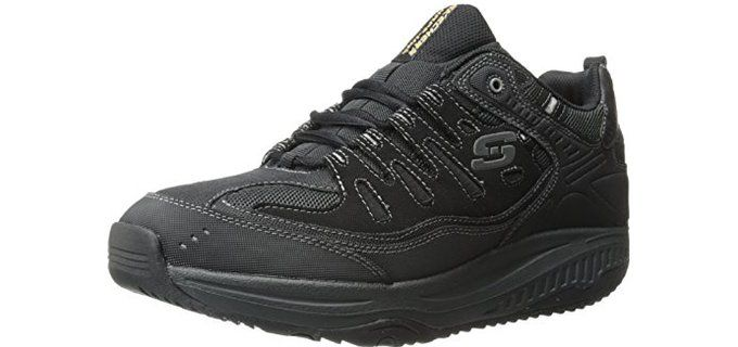 Flex Advantage Covert Action, Sneakers basses homme - Noir - Noir/blanc, 42 EUSkechers