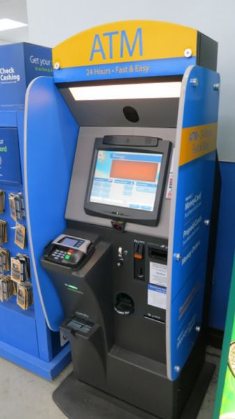 Using The Automatic Kiosk To Load Bluebird Buy Money Orders At Wal