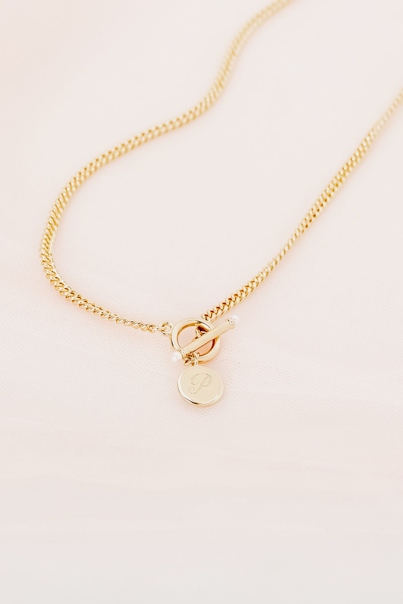 Pin By Brook York On Faves In 2021 Toggle Necklace Jewelry Trends 2020 Initial Necklace Gold