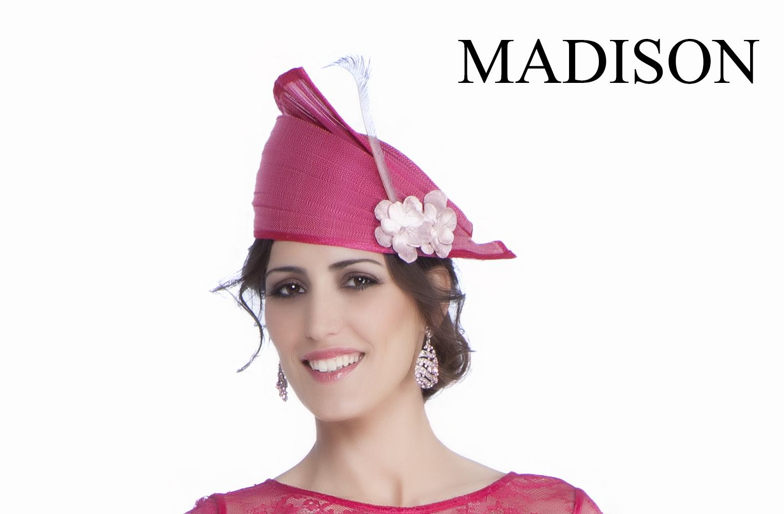 Tocado para vestidos de fiesta y madrina de Madison Diseño #tocados ...