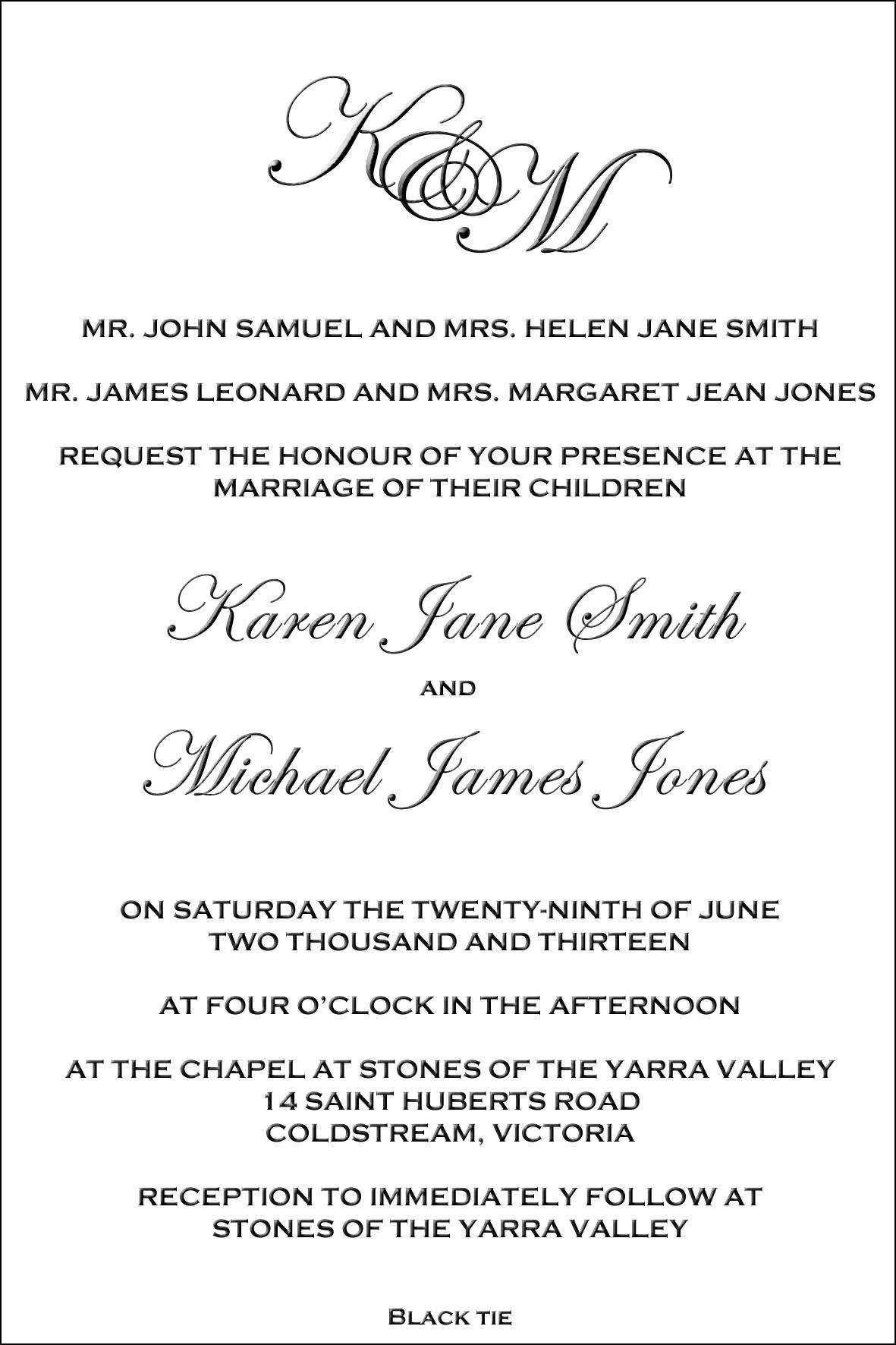 Wedding Invitation Wording Divorced Parents Of Bride Wedding Invitation Poems Invitation Wording Wedding Invitation Wording