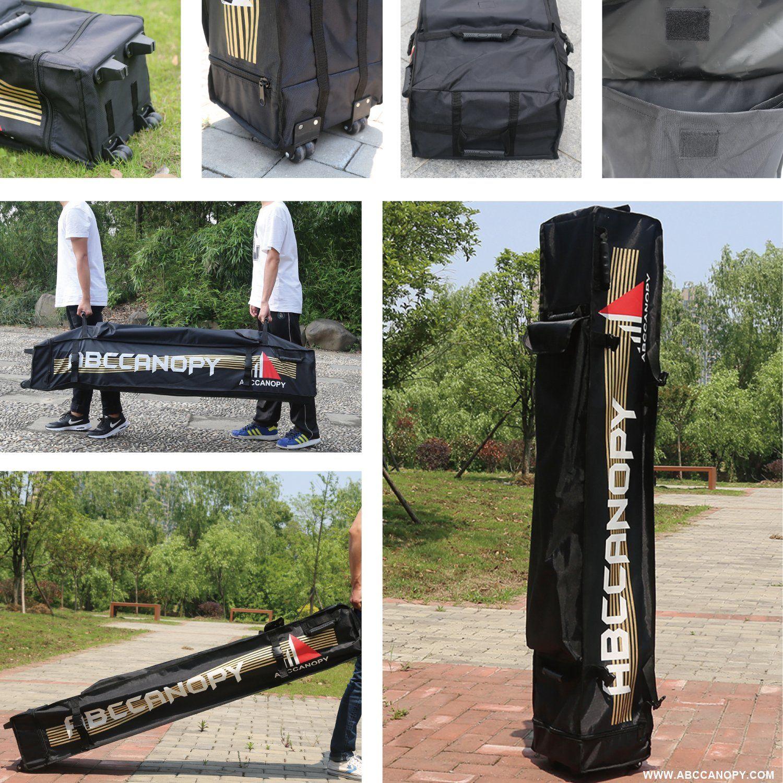 Abccanopy commercial 10x10 ez pop up canopy party tent