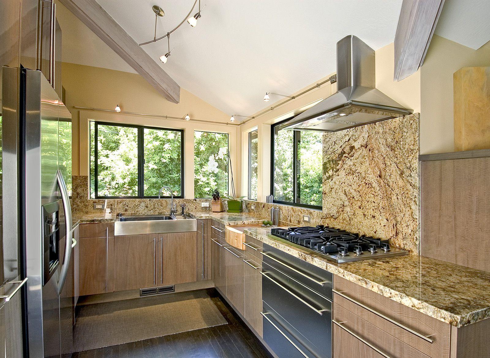 Kuchnia Otwarta Czy Zamknieta Szukaj W Google Modern Kitchen Design Modern Kitchen Granite Kitchen Design