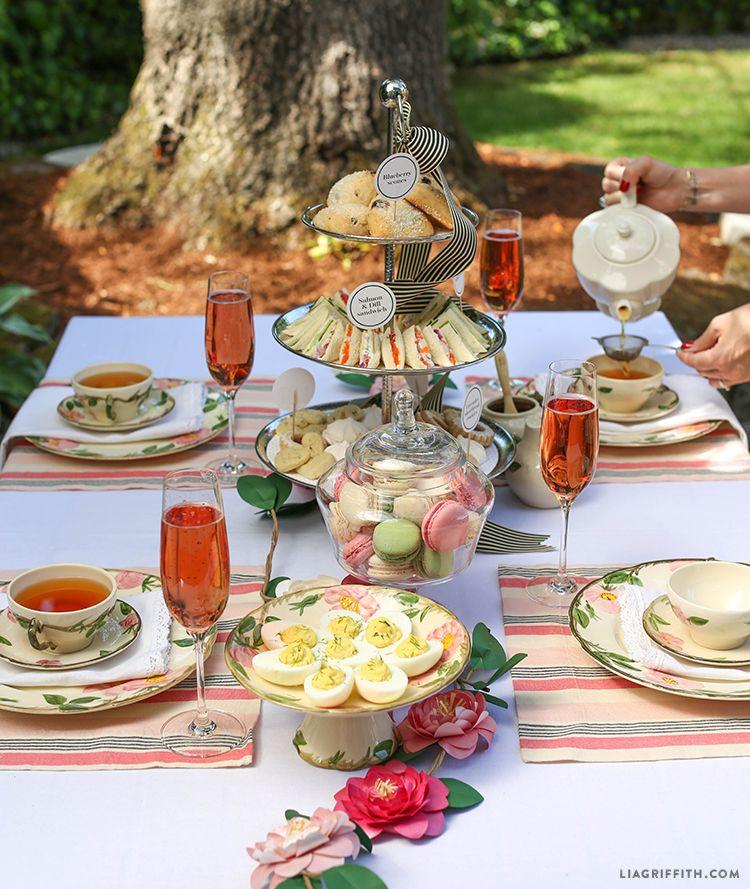 Host an English Style High Tea | tea party ideas | Tea ...