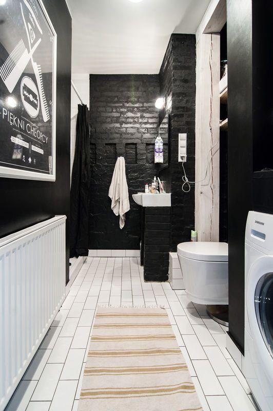 Projektant Tej łazienka Chciał Odwrócić Uwagę Od Jej