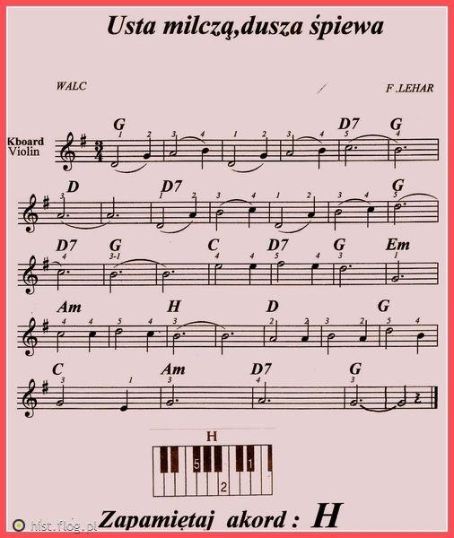 Usta Milcza Dusza Spiewa Nuty Szukaj W Google Sheet Music Music Notes Music Score