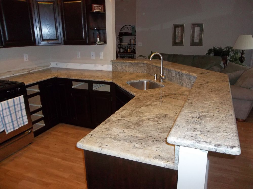 kitchen countertop typhoon bordeaux granite kitchen note - Kitchen Countertop Photos