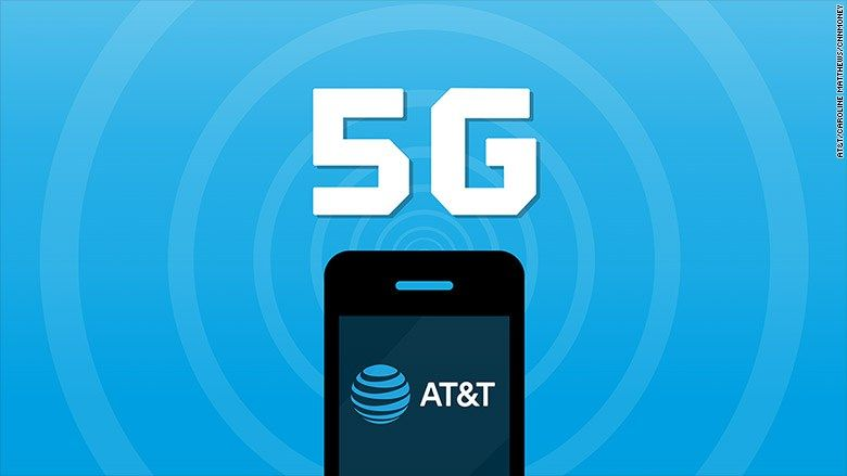 At T To Bring Mobile 5g To Dozen Markets This Year 4g Internet