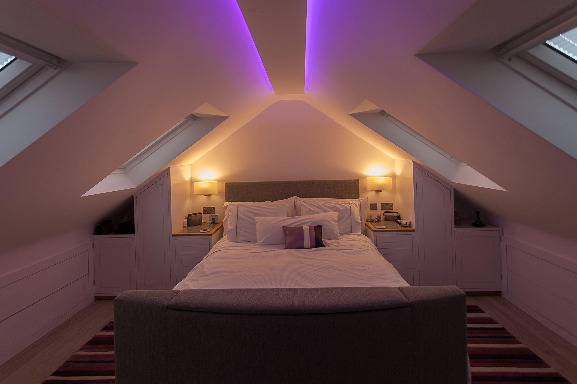 Indirecte Plafondverlichting Loft Conversion Bedroom Attic Bedroom Designs Loft Conversion