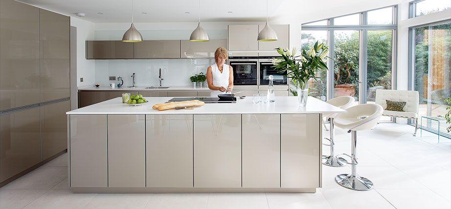 Charmant Kitchens International; Kitchens Scotland; Contemporary Kitchens; Leicht  Kitchens