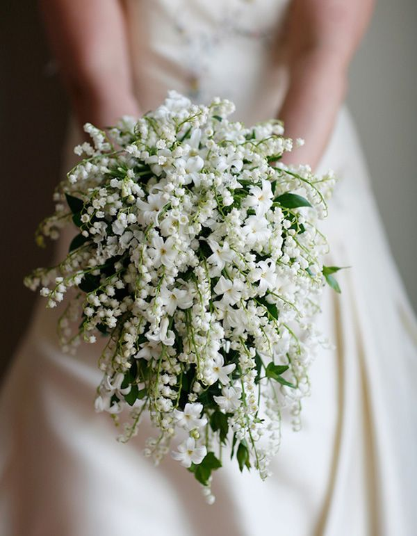 Lilies Of The Valley Symbolize Future Hiness We Chose This Because Archer Always Gets Them For May Bridesmaids Eight Bouquets White Lilac