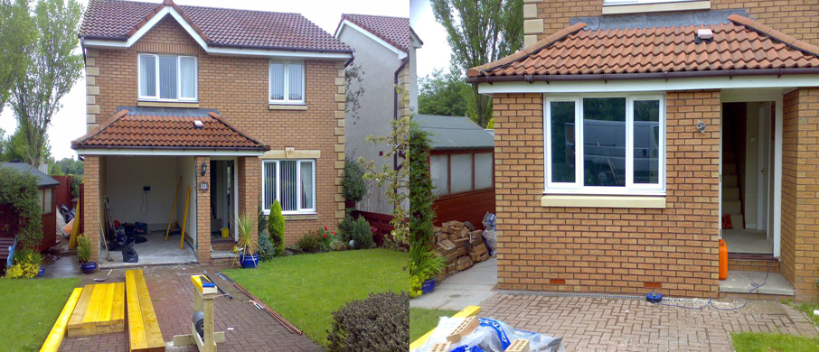 Garage Conversion garage conversion in broughty ferry | work related-converting a