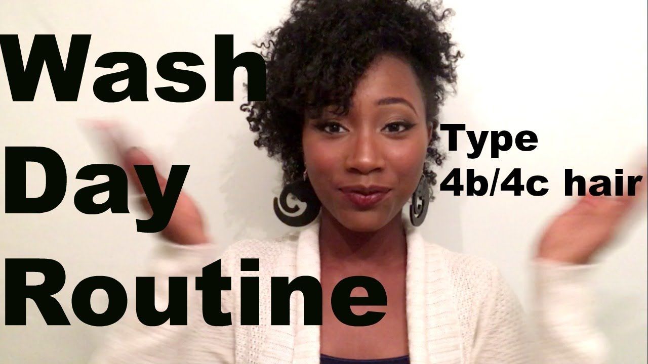 Wash Day Routine For Dry Natural Hair Type 4b 4c Hair Youtube