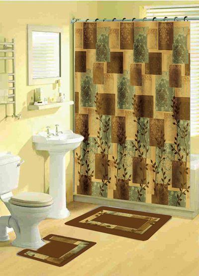 Woolrich Winter Hills 100 Cotton Single Shower Curtain
