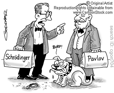 Pavlov S Dog Eats Schrodinger S Cat Schr 246 Dinger S Cat