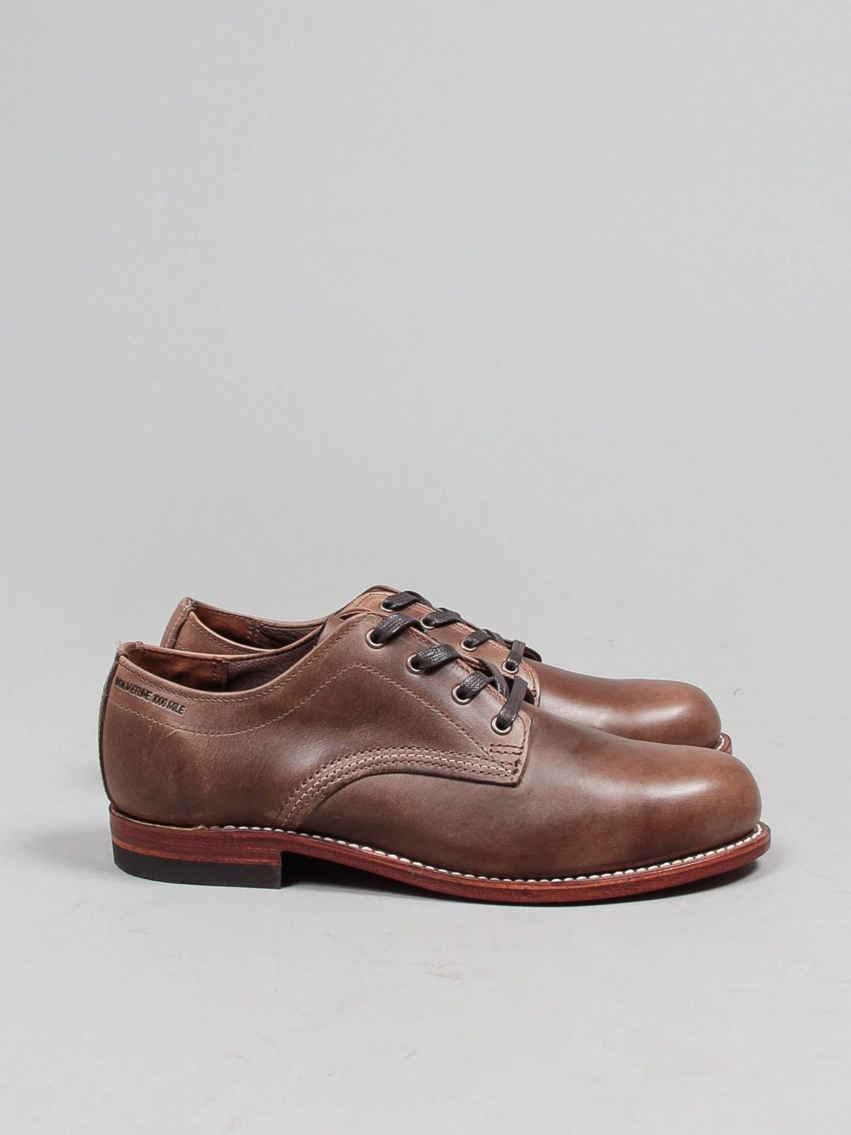 29e4b28d8ce wolverine 1000 mile, oxford, natural | WARDROBE 19 | Shoes