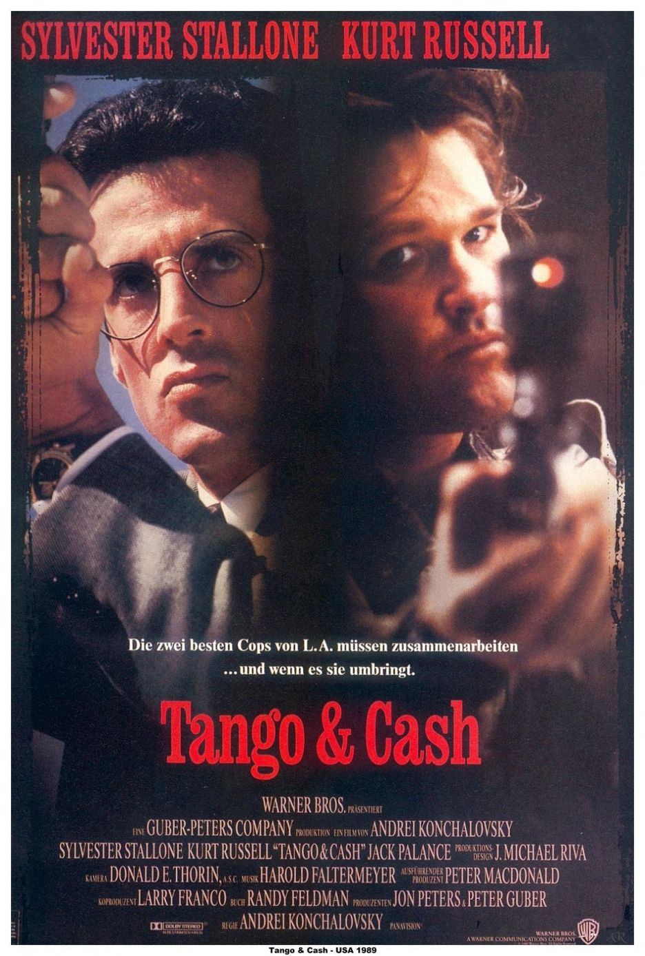 tango cash 1989 albert magnoli andr i konchalovski movies tv stuff pinterest. Black Bedroom Furniture Sets. Home Design Ideas