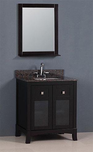 Tuscany Golden Elite 30 Dark Brown Transitional Bathroom Vanity The Vanity Store Canada 30 1 Transitional Bathroom Transitional Decor Vanity