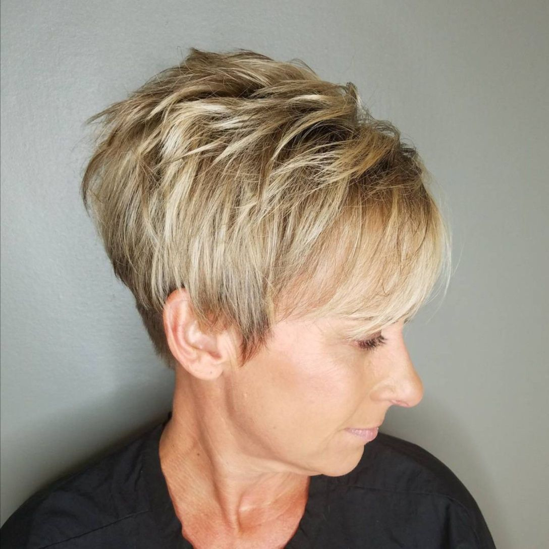 34+ Choppy pixie cuts for over 50 ideas