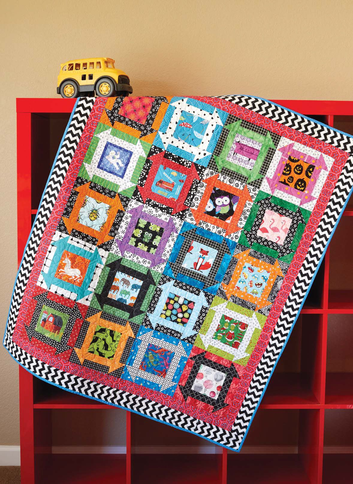 Can You Find It? quilt pattern: Get ready to play I Spy with this ...