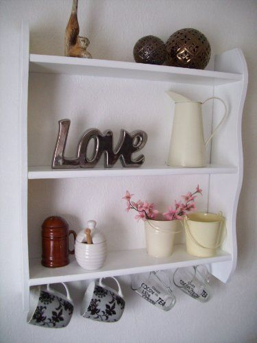 Kitchen Shelves With Cup Hooks Shelf