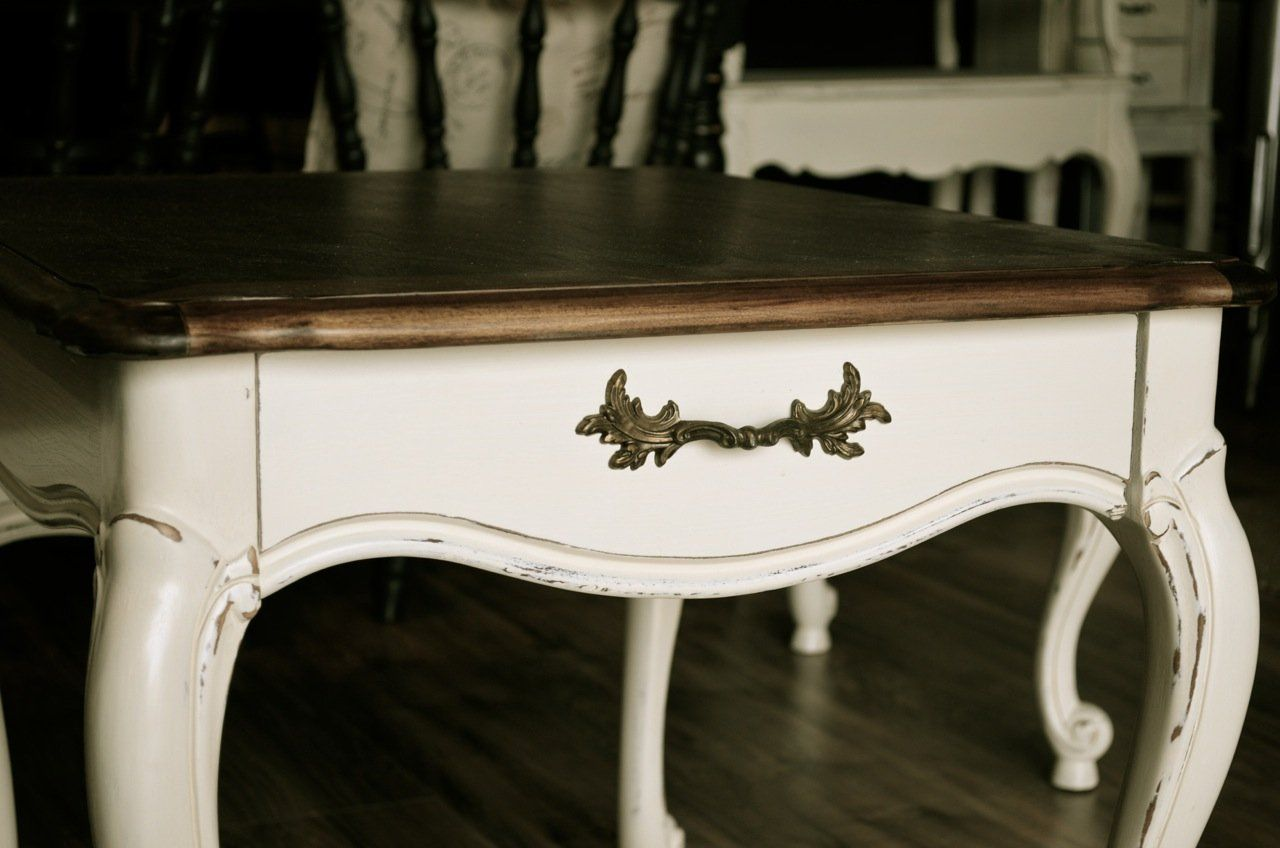 French Provincial Style Nightstand Or End Table Coffee Table