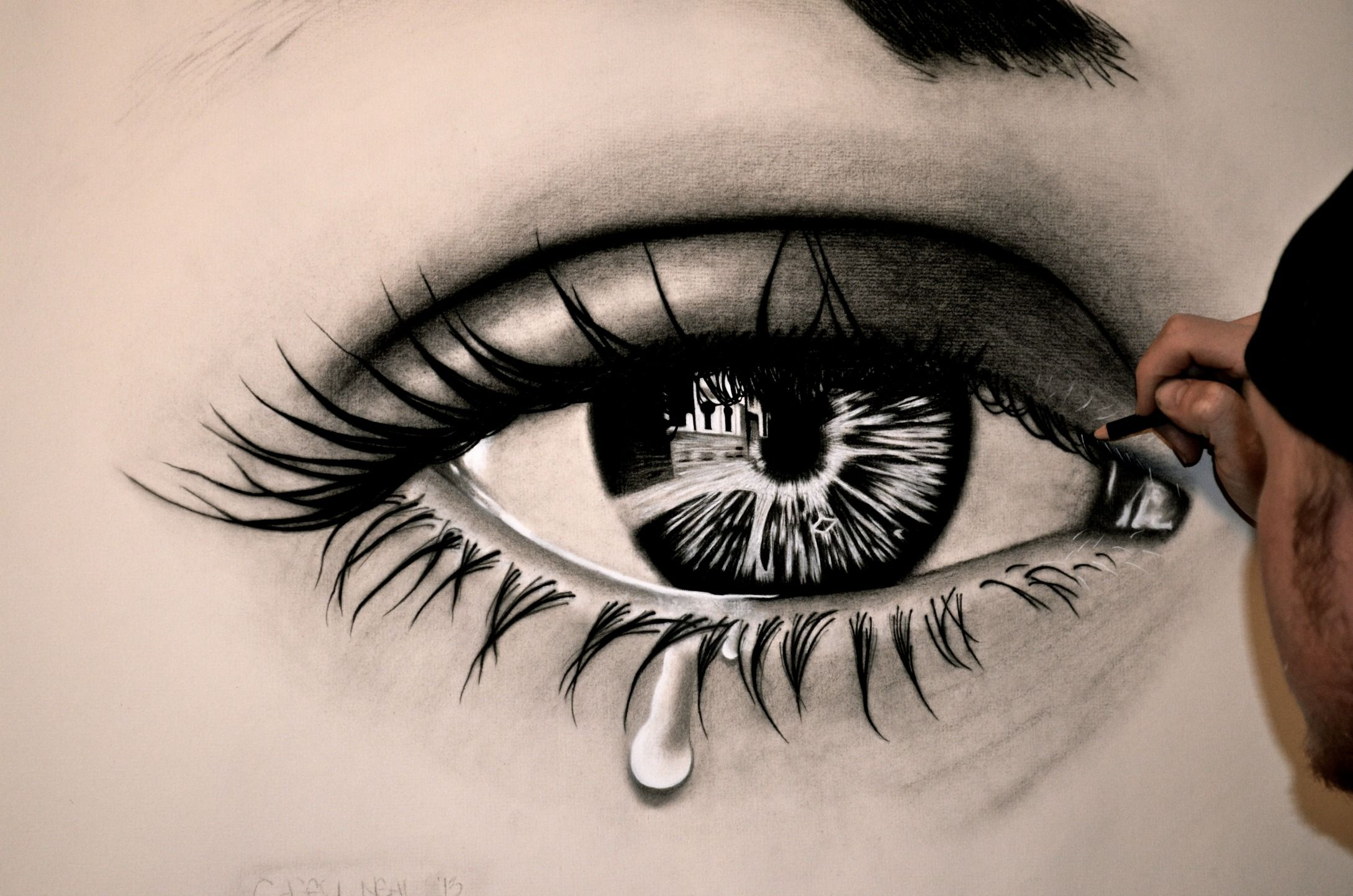 15 Unbelievable Drawings Of Eyes