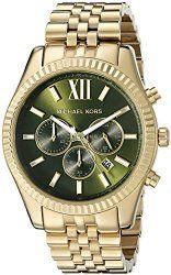 f6237520f01c Michael Kors Men s MK8446 Lexington Gold-Tone Watch