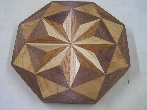 awesome pin wheel end grain 3D cutting board