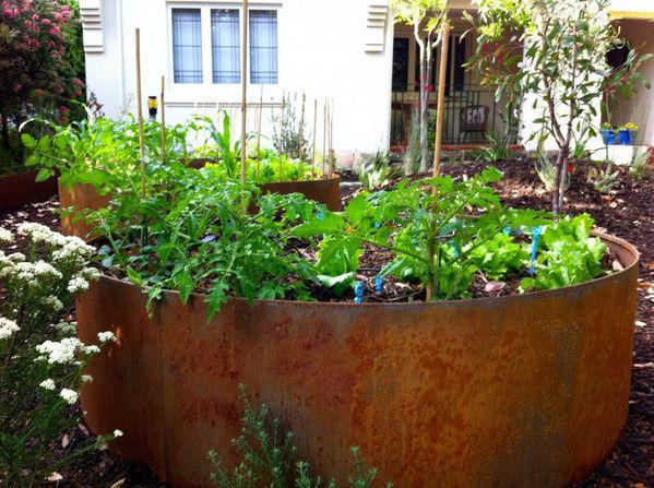 High Quality Georgeus Raised Garden Beds Metal Garden Edging From FromBoss Nice Look